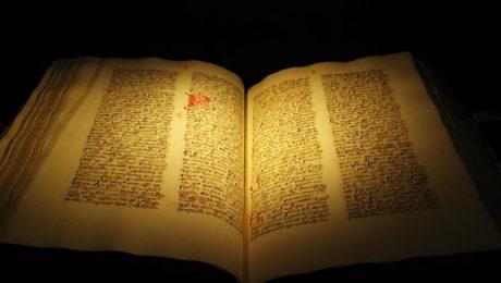 پایان تیتر: کتاب انجیل مقدس