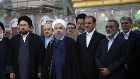 پایان تیتر: تجدید میثاق روحانی و هیات دولت