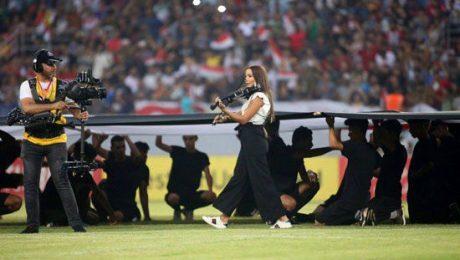 پایان تیتر: رقص زنان مسابقات فوتبال غرب آسیا