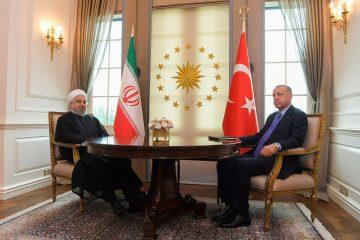 دیدار روحانی با اردوغان در ترکیه