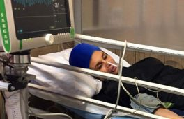 حمله عاشق زن و بچه دار به خانم بدنساز تهرانی + عکس آرزو در بیمارستان