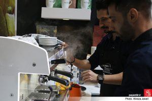 پایان تیتر: نماییشگاه و جشنواره بین المللی قهوه ایران