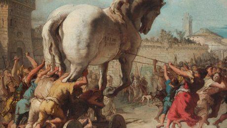 پایان تیتر: اسب تروا
