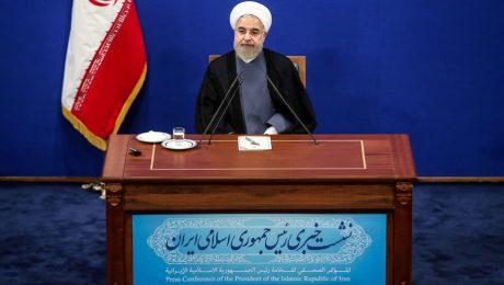 پایان تیتر: نشست خبری روحانی