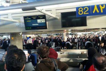 ۲ مسافر میلیاردر پرواز تهران به دوبی دستگیرشدند + جزییات