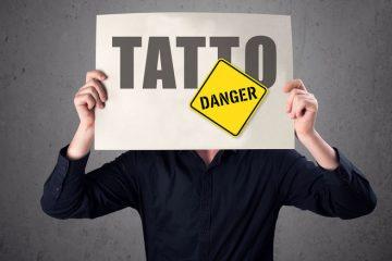 عواقب تاتو / این مطلب را قبل از تاتو کردن بخوانید