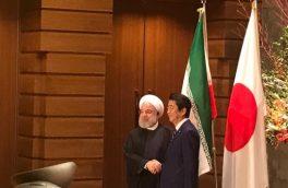 استقبال رسمی نخست وزیر ژاپن از رئیس جمهوری اسلامی ایران
