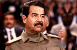 تصویری دیده نشده از لحظه دستگیری صدام