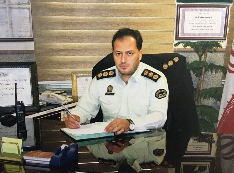 «سرهنگ حسنوند» رئیس پلیس مبارزه با موادمخدر تهران بزرگ شد