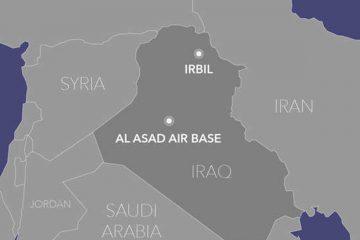 پایگاه آمریکایی عین الاسد در عراق پیش از حمله ایران + عکس