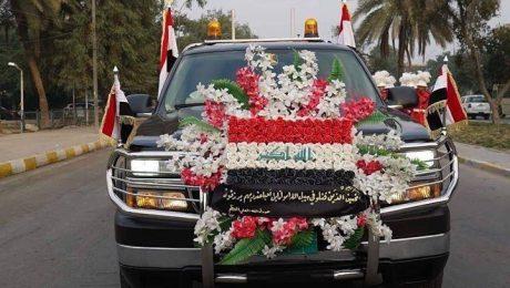 پایان تیتر: مراسم تشییع شهید سلیمانی در عراق