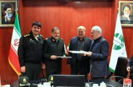 امضای تفاهم نامه همکاری میان پلیس فتا با سازمان حفاظت محیط زیست کشور