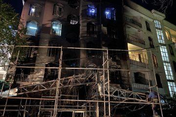 حادثه انفجار در کلینیک سینا اطهر+ جزئیات و تصاویر