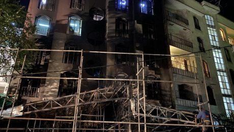پایان تیتر: انفجار مرکز درمانی سینا اطهر