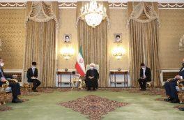 روحانی: روابط با چین برای ایران مهم و راهبردی است