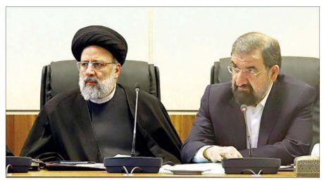 پایان تیتر: پیام تبریک محسن رضایی به رئیسی