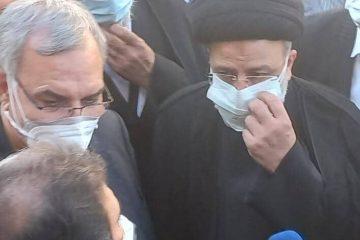 رییس جمهوری از بیمارستان رازی اهواز بازدید کرد